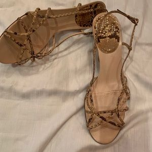 Cole Haan Collection Python Heels